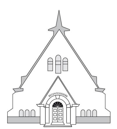 Tekening Regentessekerk
